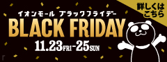 BLACK FRIDAY 目玉商品