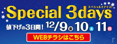 SPECIAL 3DAYS(WEBチラシ)